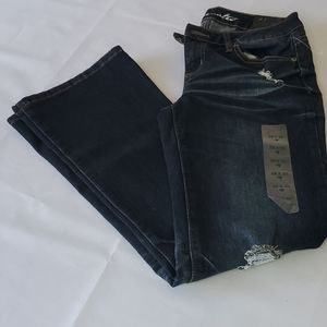 Blue Notes Low Rise Boot Cut Jeans